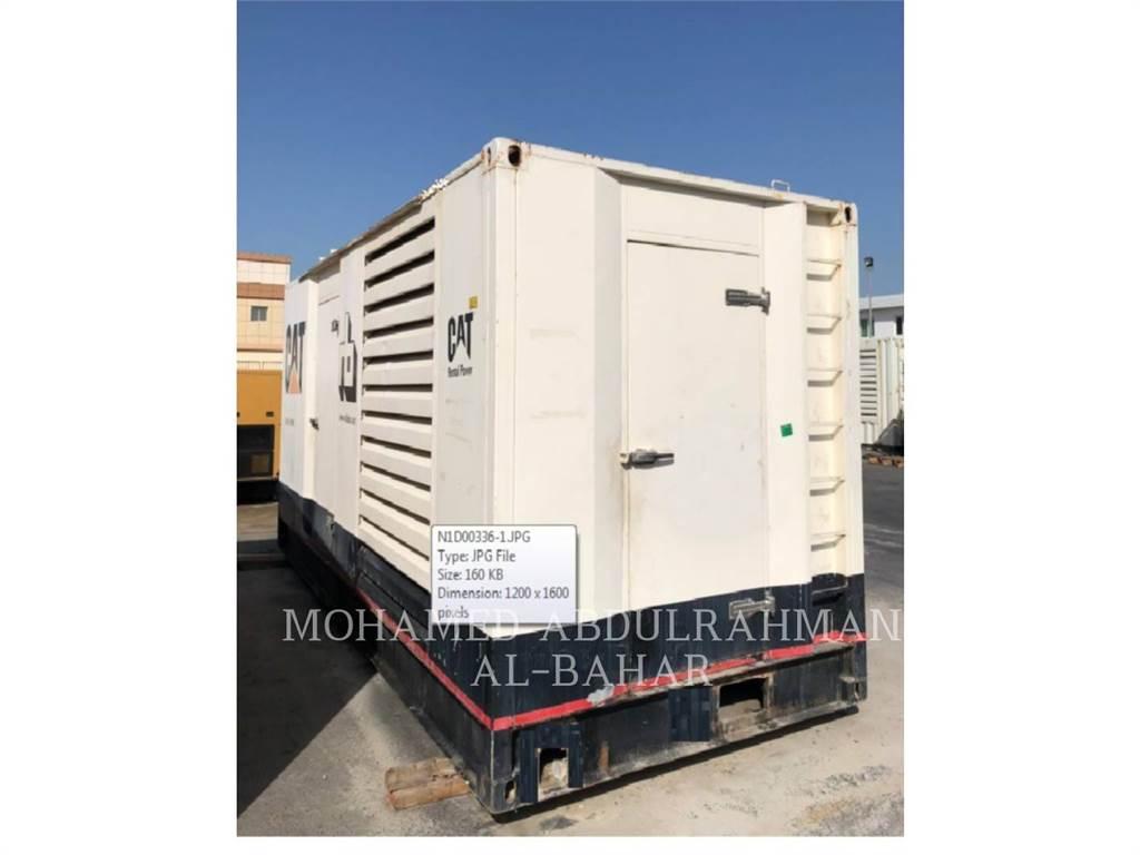 Caterpillar C18, mobiele generatorsets, Bouw