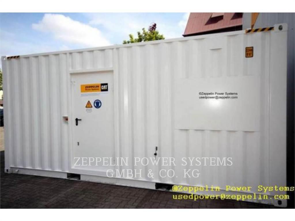 Caterpillar C18 CAT REBUILD CONTAINER, Stacjonarne Zestawy Generatorów, Sprzęt budowlany