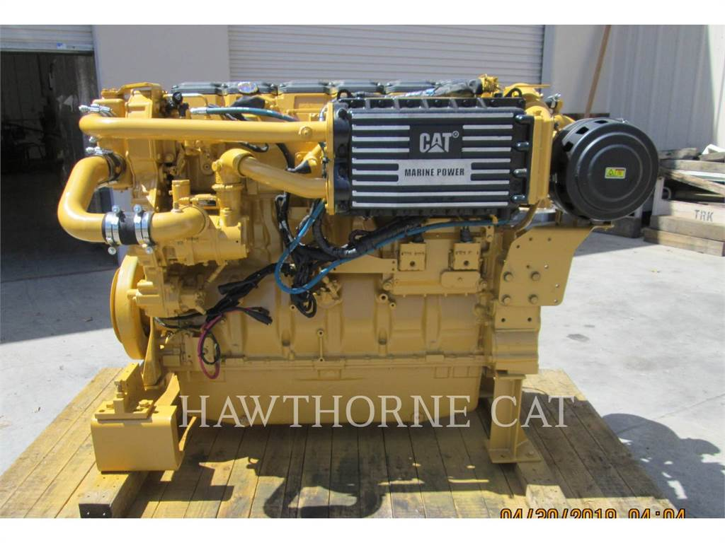 Caterpillar C18 DITA, Marine Propulsion / Auxiliary Engines, Construction