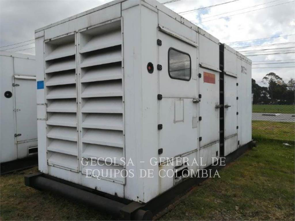 Caterpillar C27-591, Stationary Generator Sets, Construction