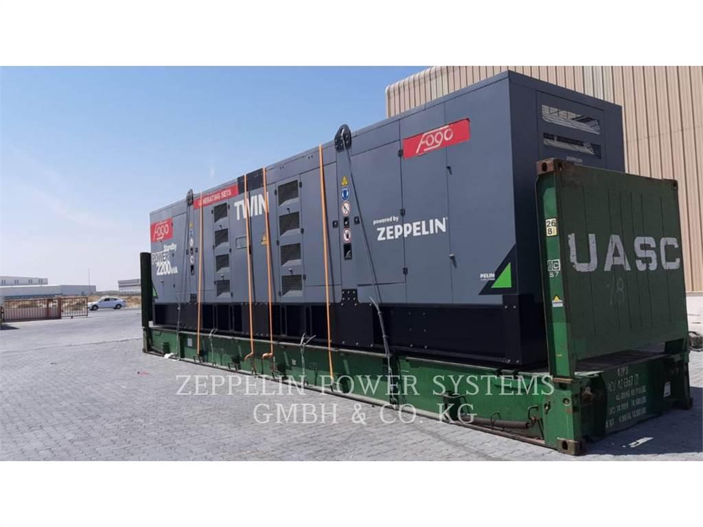 Caterpillar C32 TWIN PPO2000, ruchome zestawy generatorów, Sprzęt budowlany