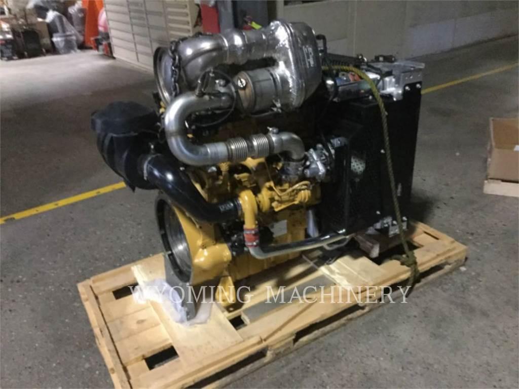 Caterpillar C4.4, Motores industriais, Equipamentos Construção
