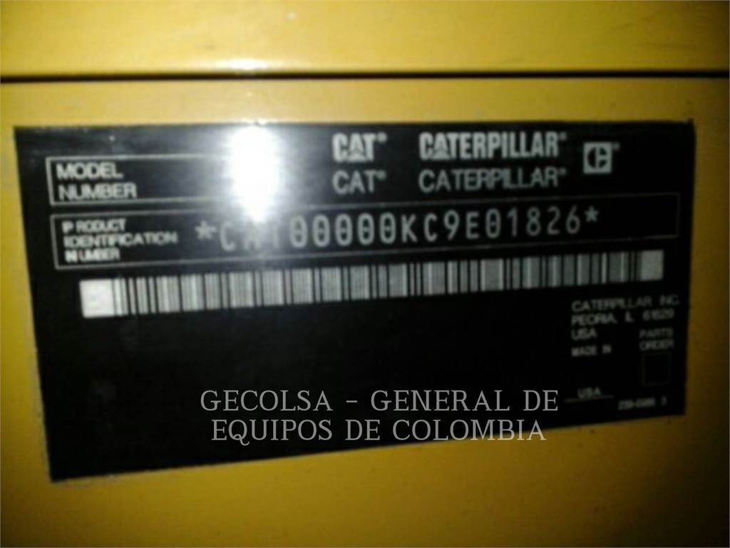 Caterpillar C9, Stationaire Generatorsets, Bouw