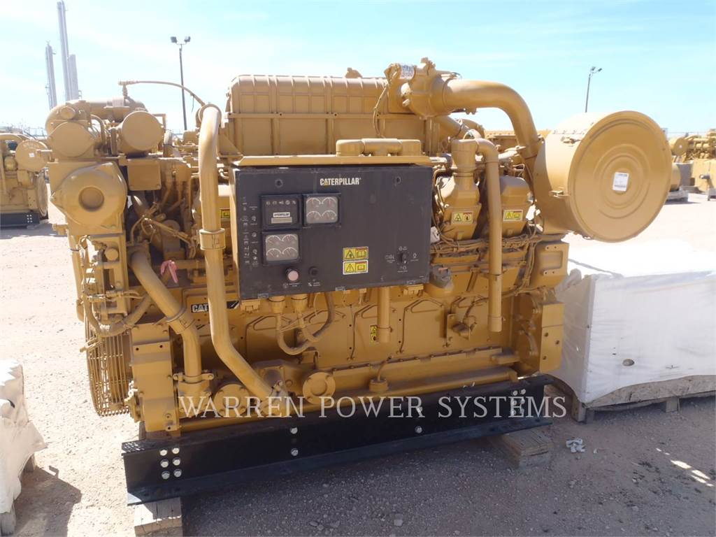 Caterpillar CAT 3512C LAND MECHANICAL, Petroleum Engines, Construction