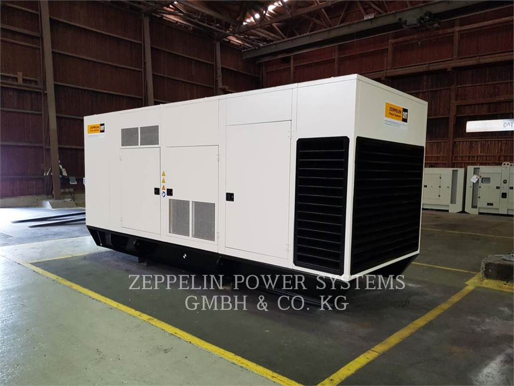 Caterpillar CAT 900F - 3412, mobile generator sets, Construction
