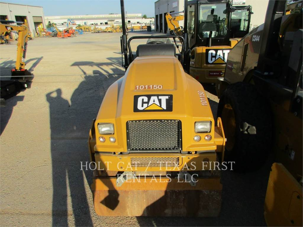 Caterpillar CB 24 B, Rouleaux tandem, Équipement De Construction