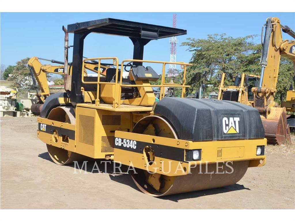 Caterpillar CB-534C, Rouleaux tandem, Équipement De Construction