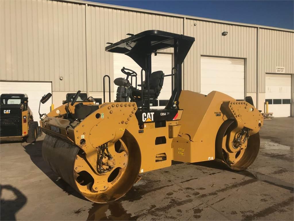 Caterpillar CB 54, Tandemwalzen, Bau-Und Bergbauausrüstung