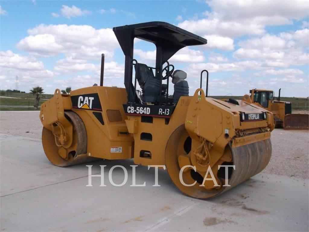 Caterpillar CB-564D, Walce dwubębnowe, Sprzęt budowlany