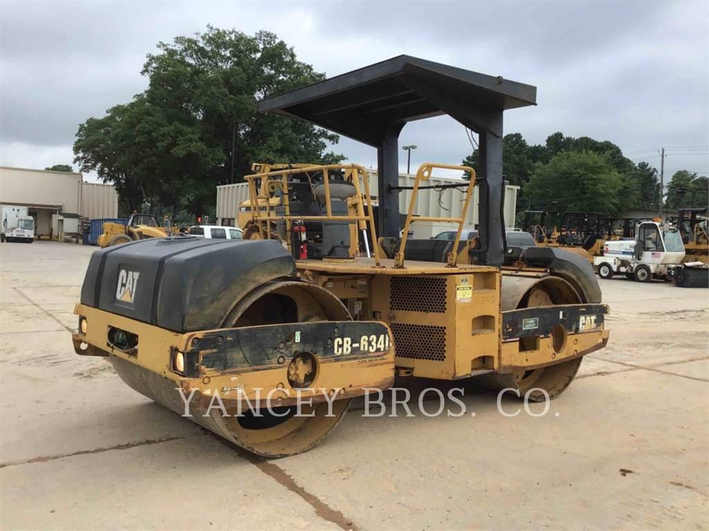 Caterpillar CB 634 D, Cilindros Compactadores tandem, Equipamentos Construção