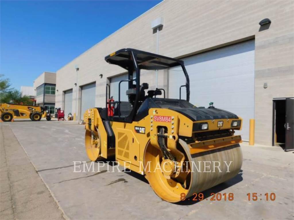 Caterpillar CB10, Walce dwubębnowe, Sprzęt budowlany