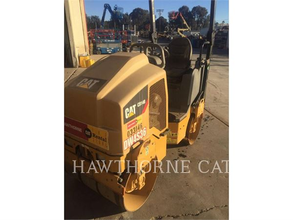 Caterpillar CB14B, Waste Compactors, Construction