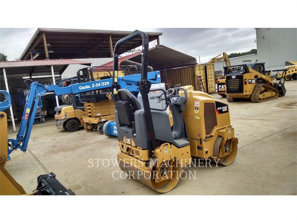 Caterpillar CB14B、廃棄物コンパクター、建設