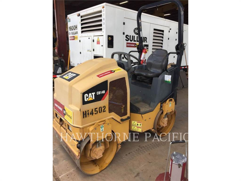 Caterpillar CB14B, Compactors, Construction