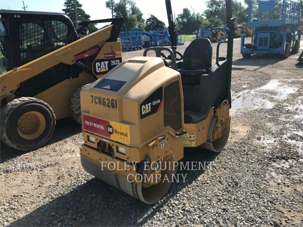 Caterpillar CB14B, Compactors, Constructii