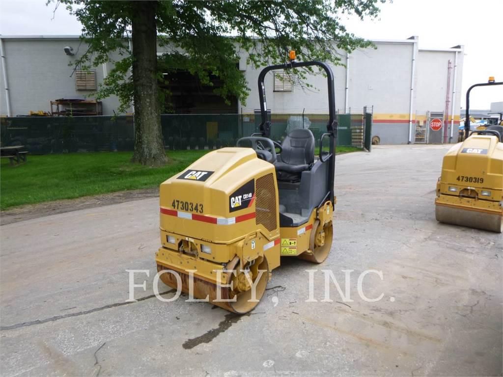 Caterpillar CB14B, Tandemwalzen, Bau-Und Bergbauausrüstung