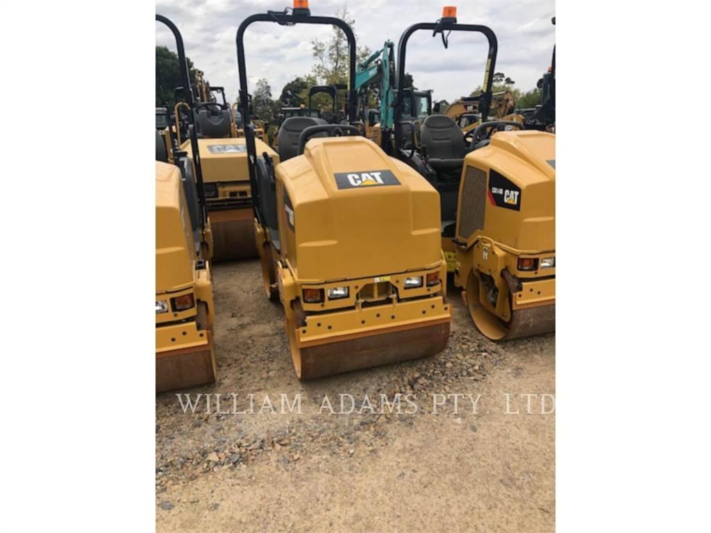 Caterpillar CB14B, Compactadores, Construcción