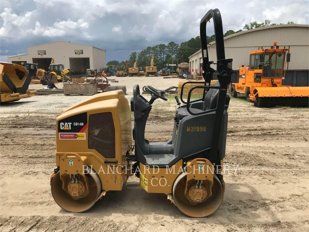 Caterpillar CB14B, Cilindros Compactadores tandem, Equipamentos Construção
