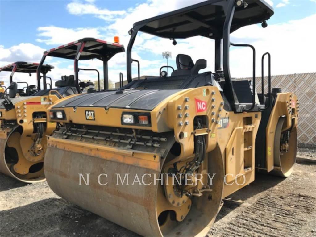 Caterpillar CB15, Asphalt pavers, Construction