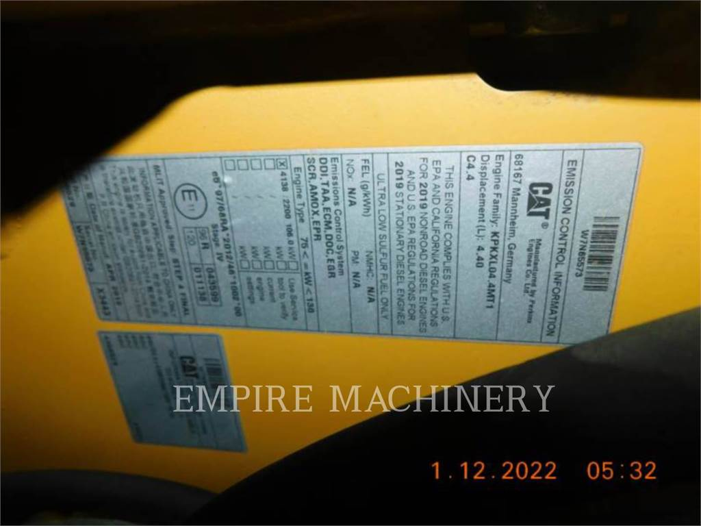 Caterpillar CB15 VB, Twin drum rollers, Construction