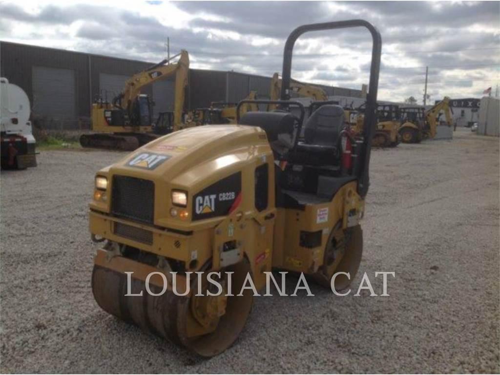 Caterpillar CB22B, Compactadoras de residuos, Construcción