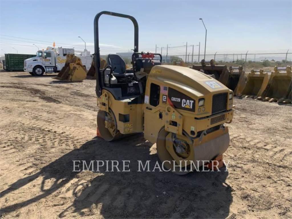 Caterpillar CB22B, Rouleaux tandem, Équipement De Construction