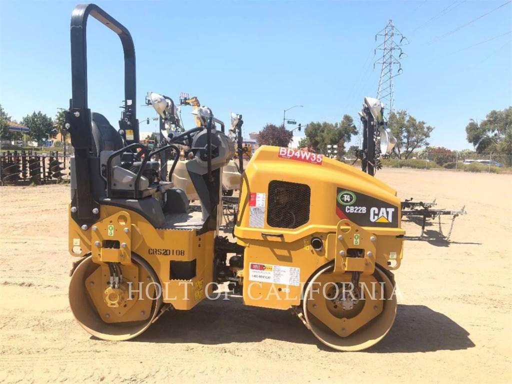 Caterpillar CB22B-MB、土壤压实机、建筑设备
