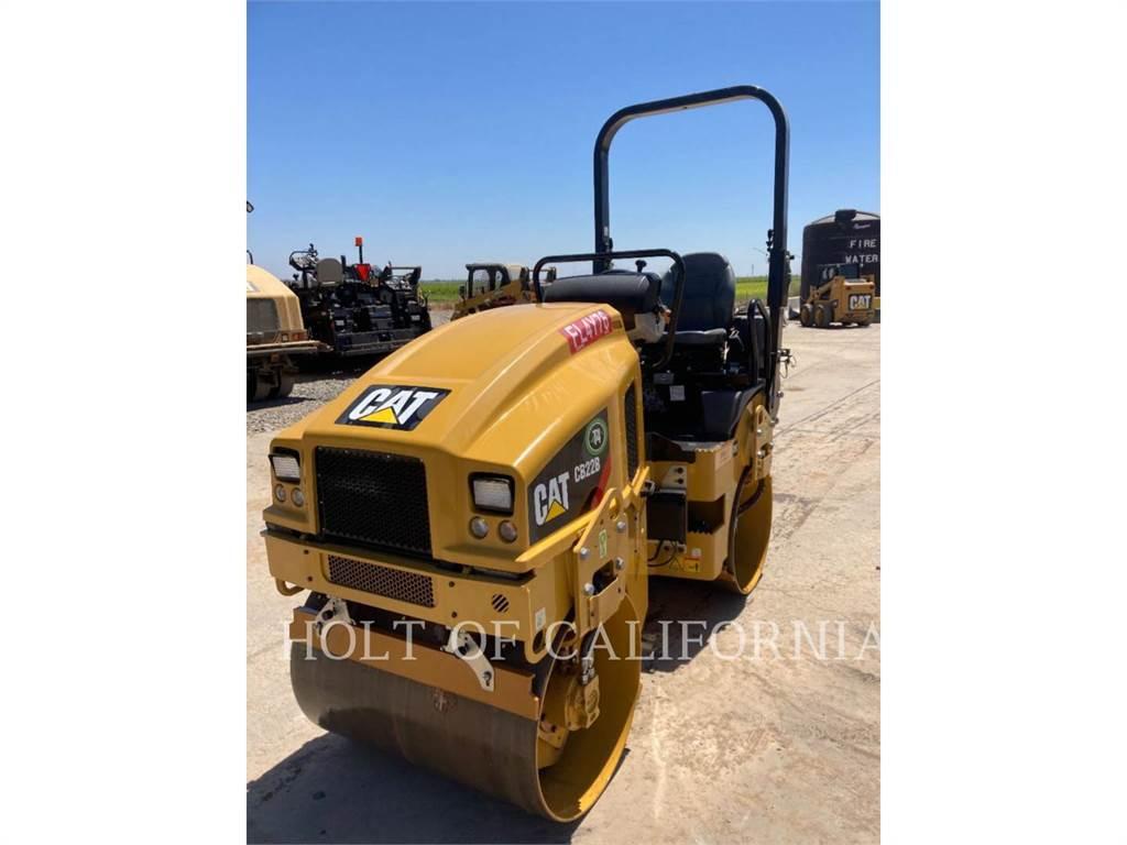Caterpillar CB22B-MB, Compactadores, Construcción