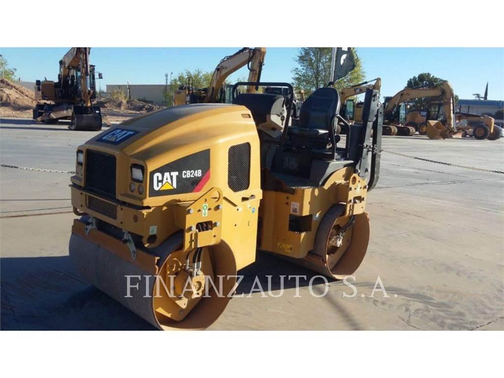 Caterpillar CB24, Tandemwalzen, Bau-Und Bergbauausrüstung