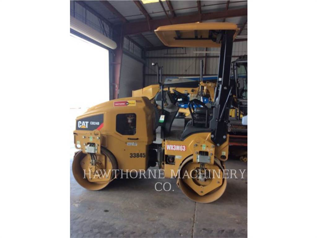 Caterpillar CB24B, Soil Compactors, Construction