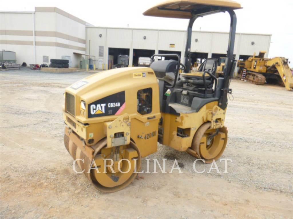 Caterpillar CB24B, Compactadoras de residuos, Construcción