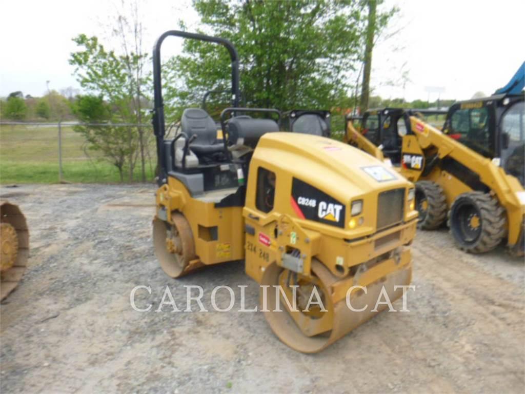 Caterpillar CB24B, Zagęszczarki, Sprzęt budowlany