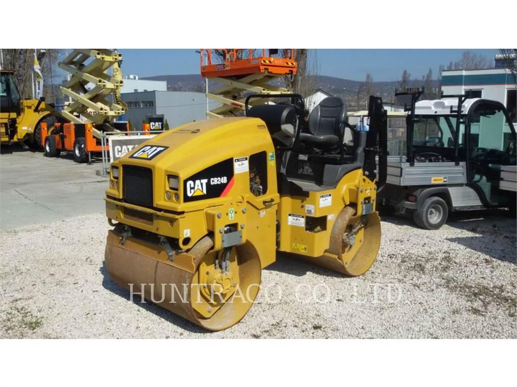 Caterpillar CB24BLRC, Tandemwalzen, Bau-Und Bergbauausrüstung