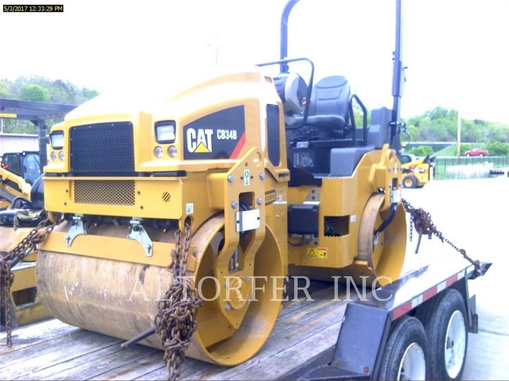 Caterpillar CB34B, Асфальтовые двухвальцовые катки, Строительное