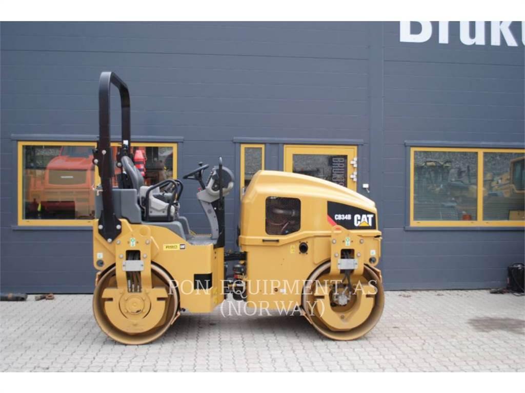 Caterpillar CB34B, Unidades misturadoras de asfalto, Equipamentos Construção