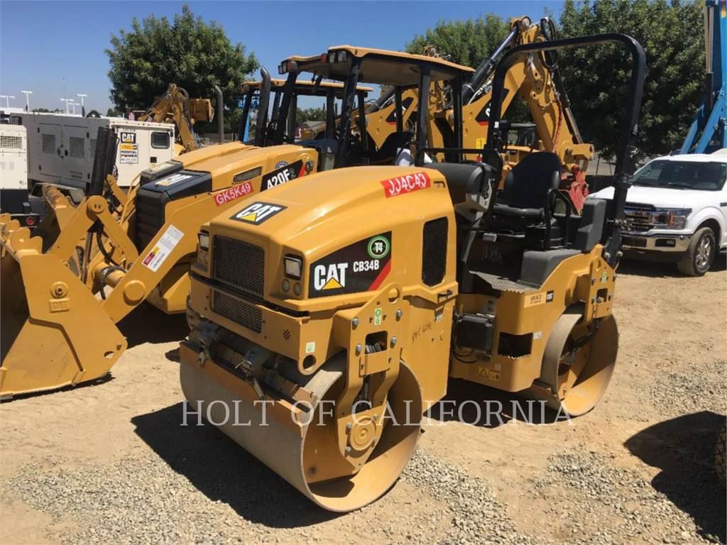 Caterpillar CB34B, Compactadores, Construcción