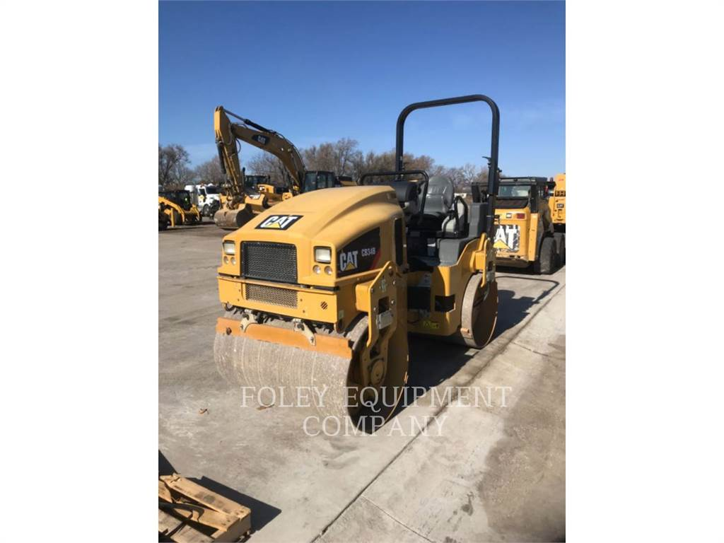 Caterpillar CB34B, Compactors, Construction