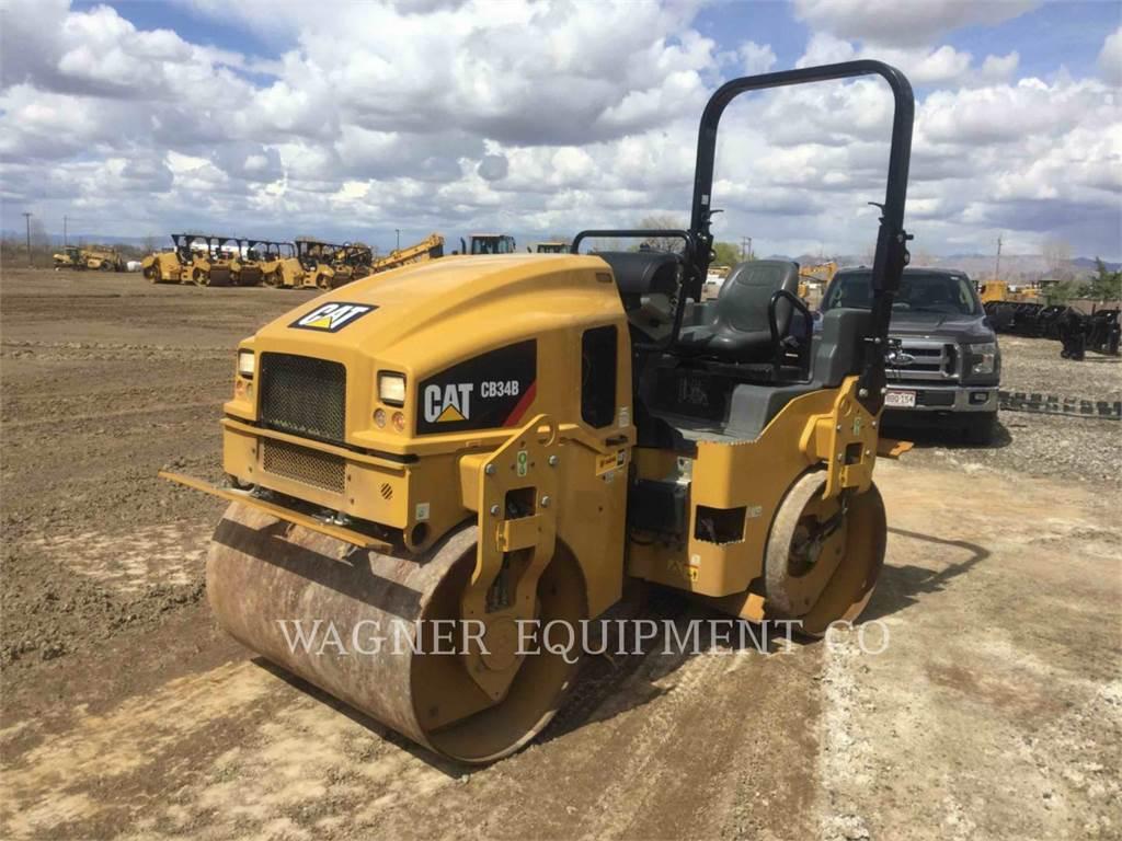 Caterpillar CB34B, Verdichter, Bau-Und Bergbauausrüstung