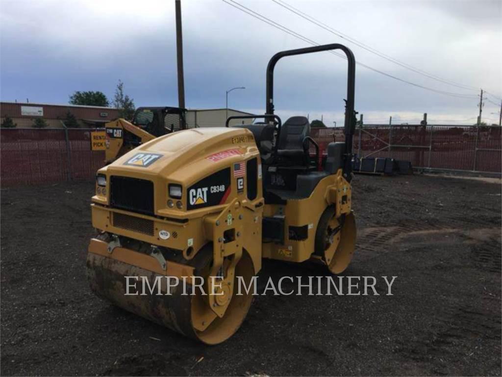 Caterpillar CB34B, Rouleaux tandem, Équipement De Construction