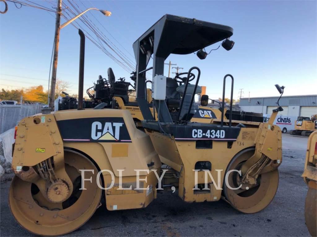 Caterpillar CB434D, Pavatoare asfalt, Constructii