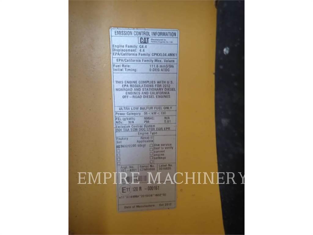 Caterpillar CB44B, Rouleaux tandem, Équipement De Construction