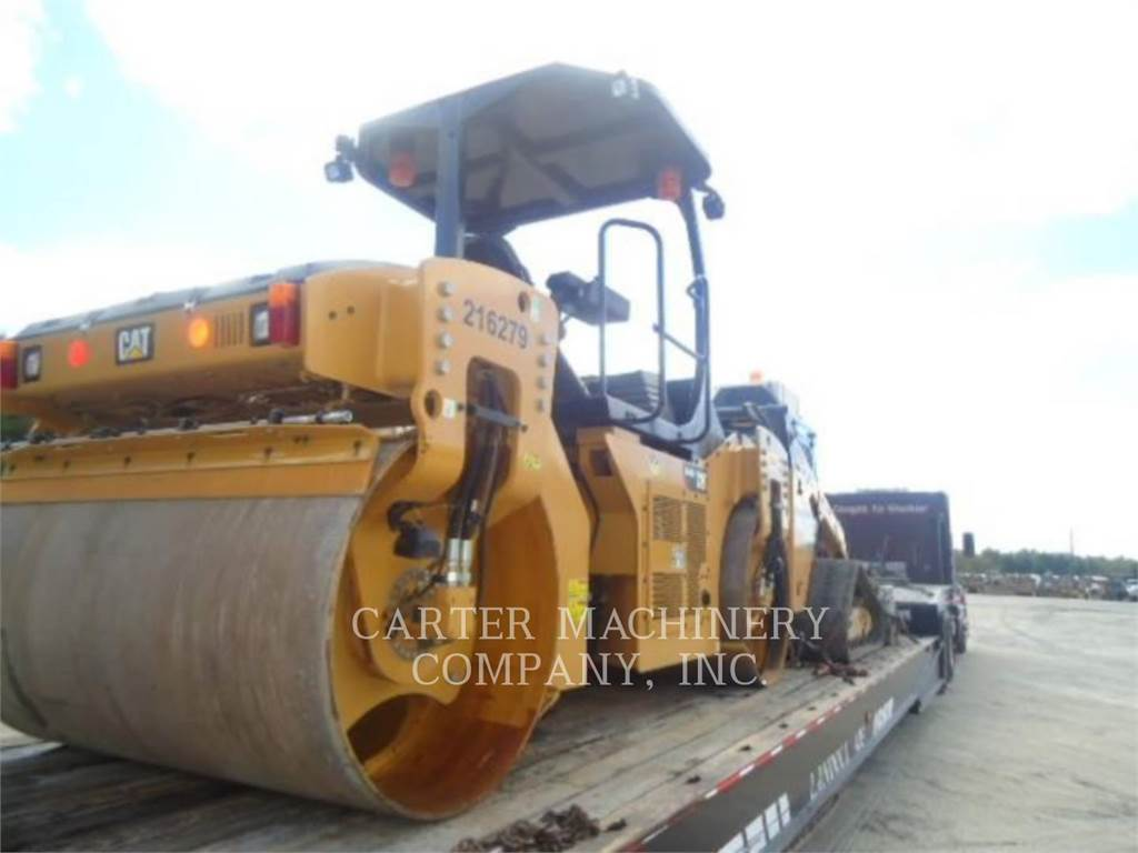 Caterpillar CB46B, Waste Compactors, Construction
