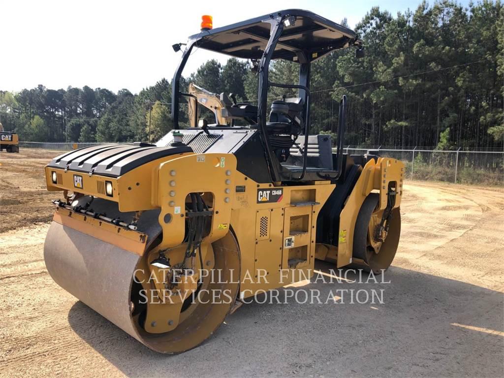 Caterpillar CB46B, Twin drum rollers, Construction