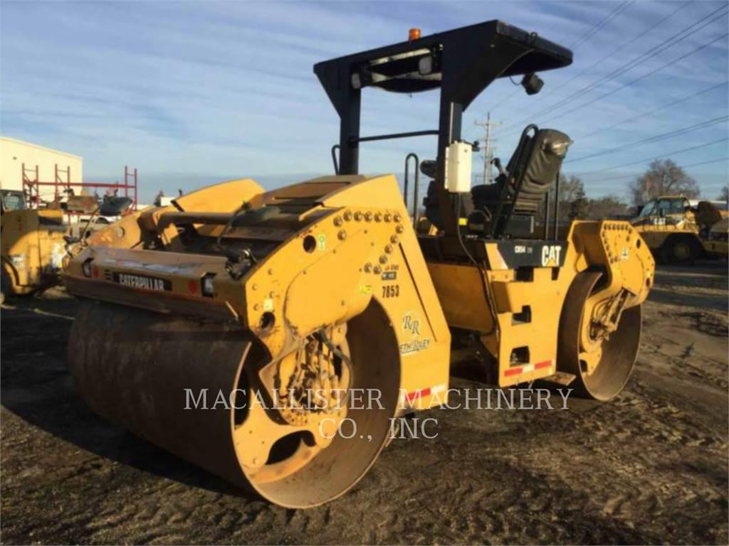 Caterpillar CB54、タンデムローラ、建設