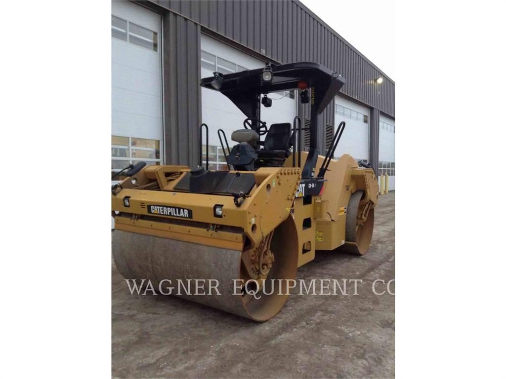 Caterpillar CB54 XW, Soil Compactors, Construction