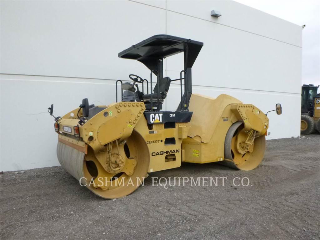 Caterpillar CB54 XW, Compactadores, Equipamentos Construção