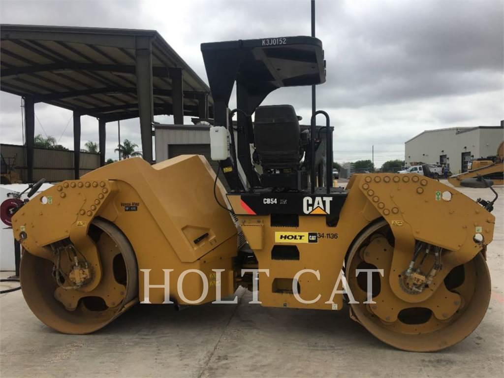 Caterpillar CB54 XW, Single drum rollers, Construction