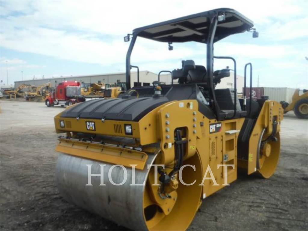 Caterpillar CB54B, Single drum rollers, Construction