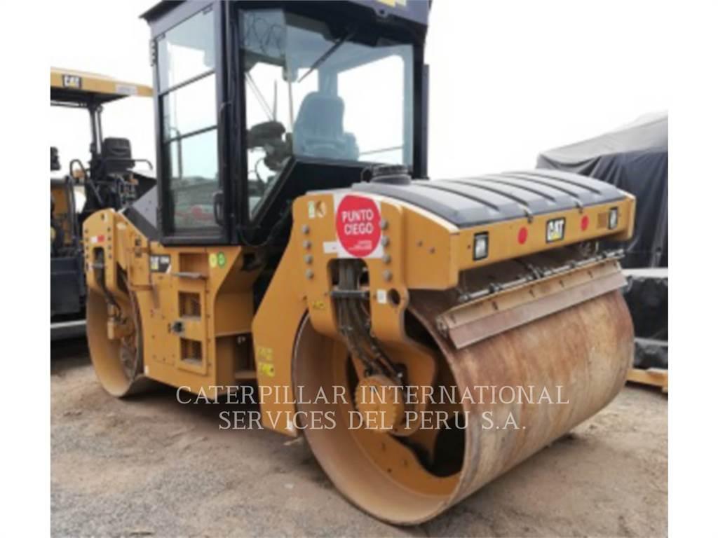 Caterpillar CB54B, Rouleaux tandem, Équipement De Construction