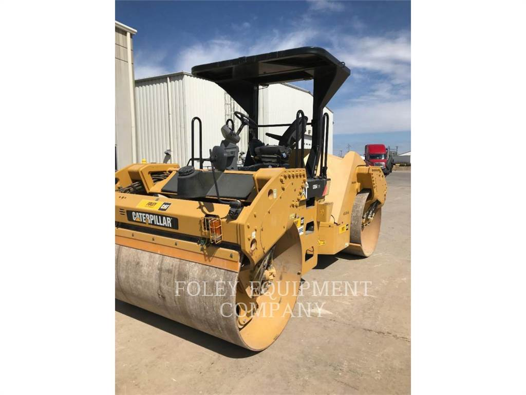 Caterpillar CB54XW、ソイルコンパクター、建設